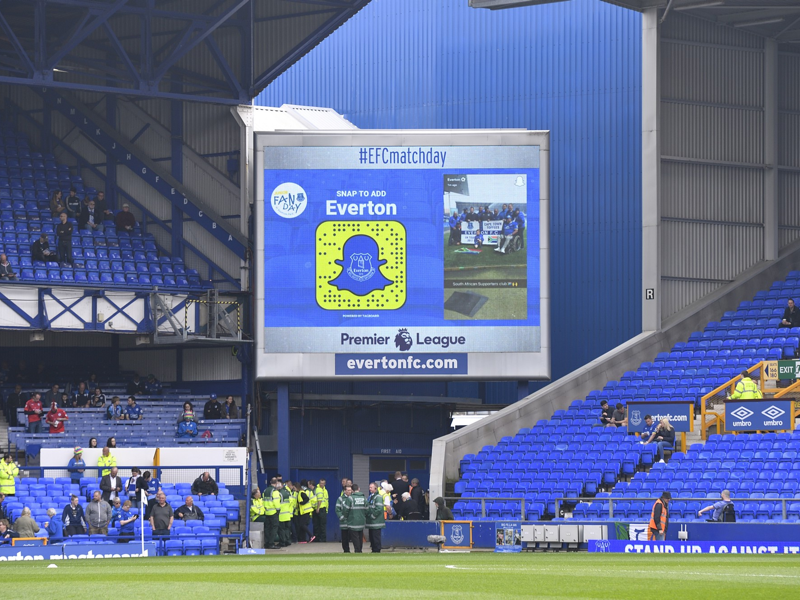 Snapchat Stories Display Everton