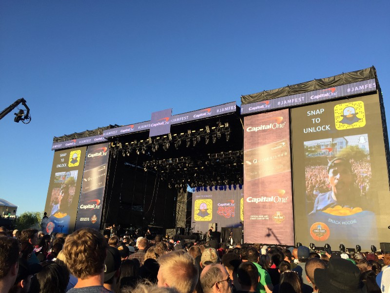 Snapchat Stories Display Jam Fest 2017